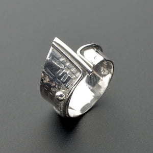 passion silver ring
