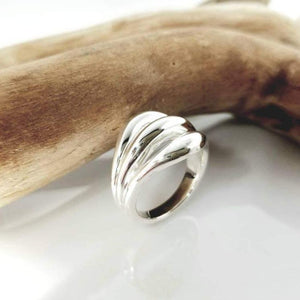 Florence sterling silver ring