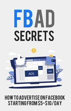 Load image into Gallery viewer, Facebook Ad Secrets