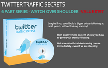 Load image into Gallery viewer, Twitter Traffic Secrets & Ad Pirate