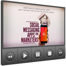 Load image into Gallery viewer, Social Messaging Apps For Marketers