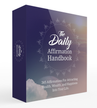 Load image into Gallery viewer, Daily Affirmation Handbook