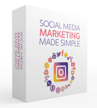 Load image into Gallery viewer, Social Media Marketing Made Simple