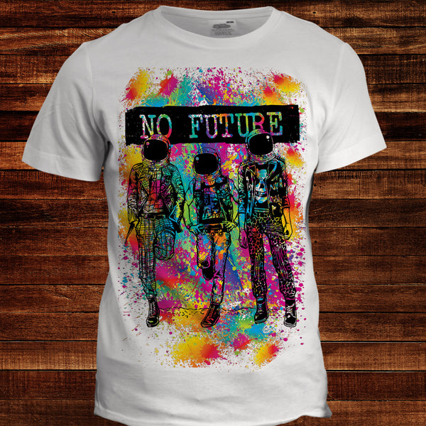 No Future Men's Graphic Tee