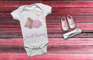 Sweet Dreams Mooney Bear Girl's One-Piece