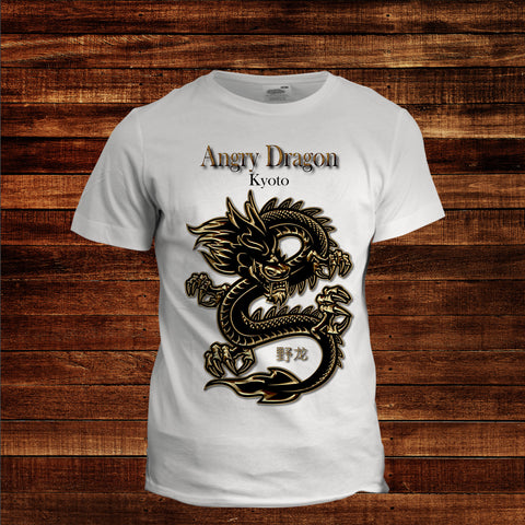 Angry Dragon Men's graphic Tee