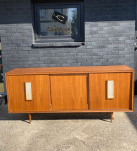 Load image into Gallery viewer, Mid Century Modern walnut credenza