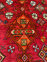 Load image into Gallery viewer, NW Iran colorful Qashqai Rug, 3.5 x 5