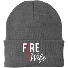 FIRE WIFE REDLINE Winter Knit Cap