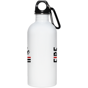 Fire Wife Flag 20 oz. Stainless Steel Water Bottle