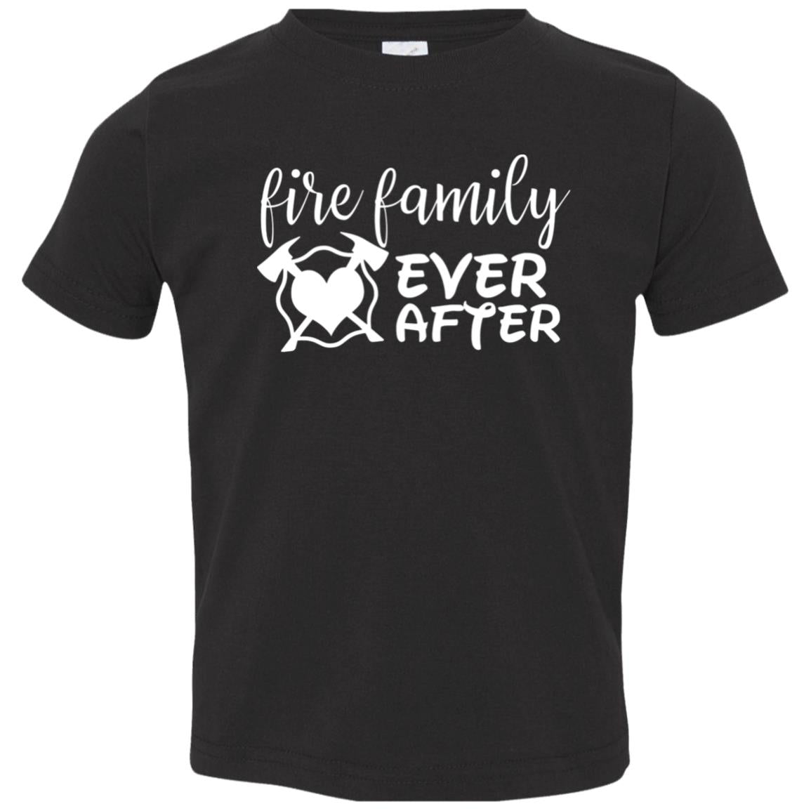 Fire Family Ever After Toddler Jersey T-Shirt