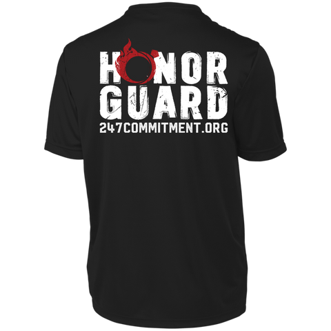 Honor Guard Wicking Tee - Front and Back Design