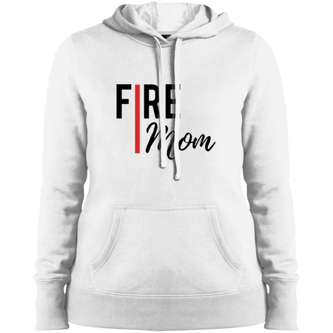 FIRE MOM Sport-Tek Hooded Sweatshirt