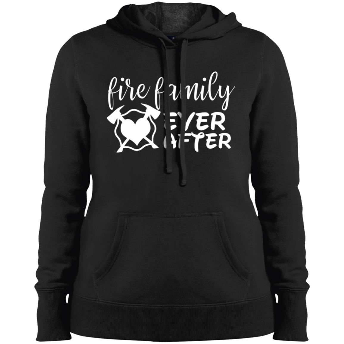 Family Ever After Ladies' Pullover Hooded Sweatshirt