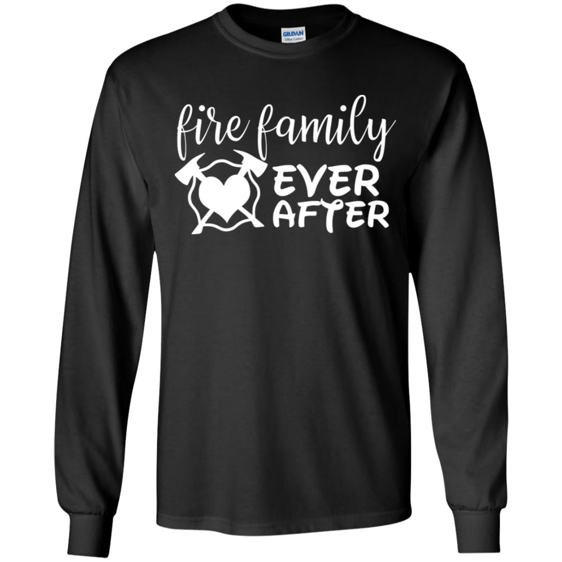 Fire Family Ever After Youth LS T-Shirt by Gildan