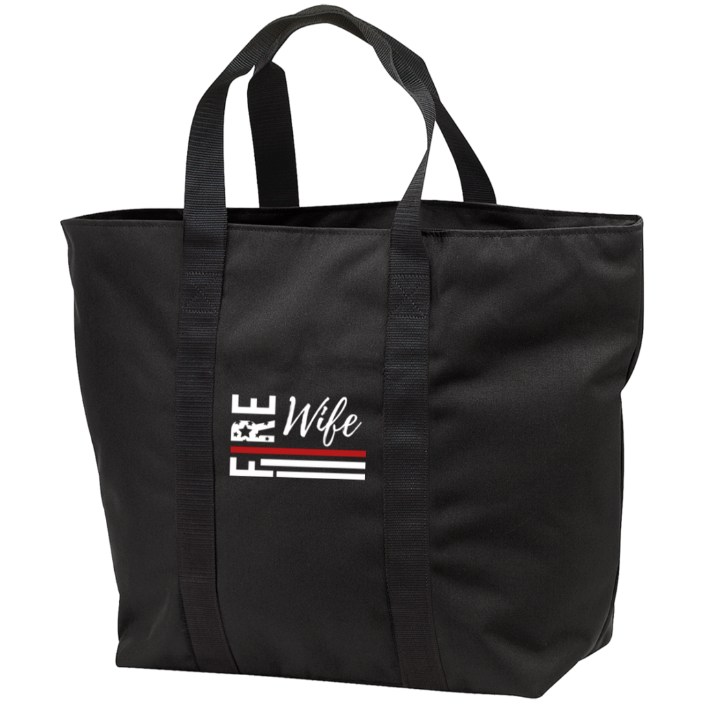 Fire Wife Flag - embroidered B5000 All Purpose Tote Bag