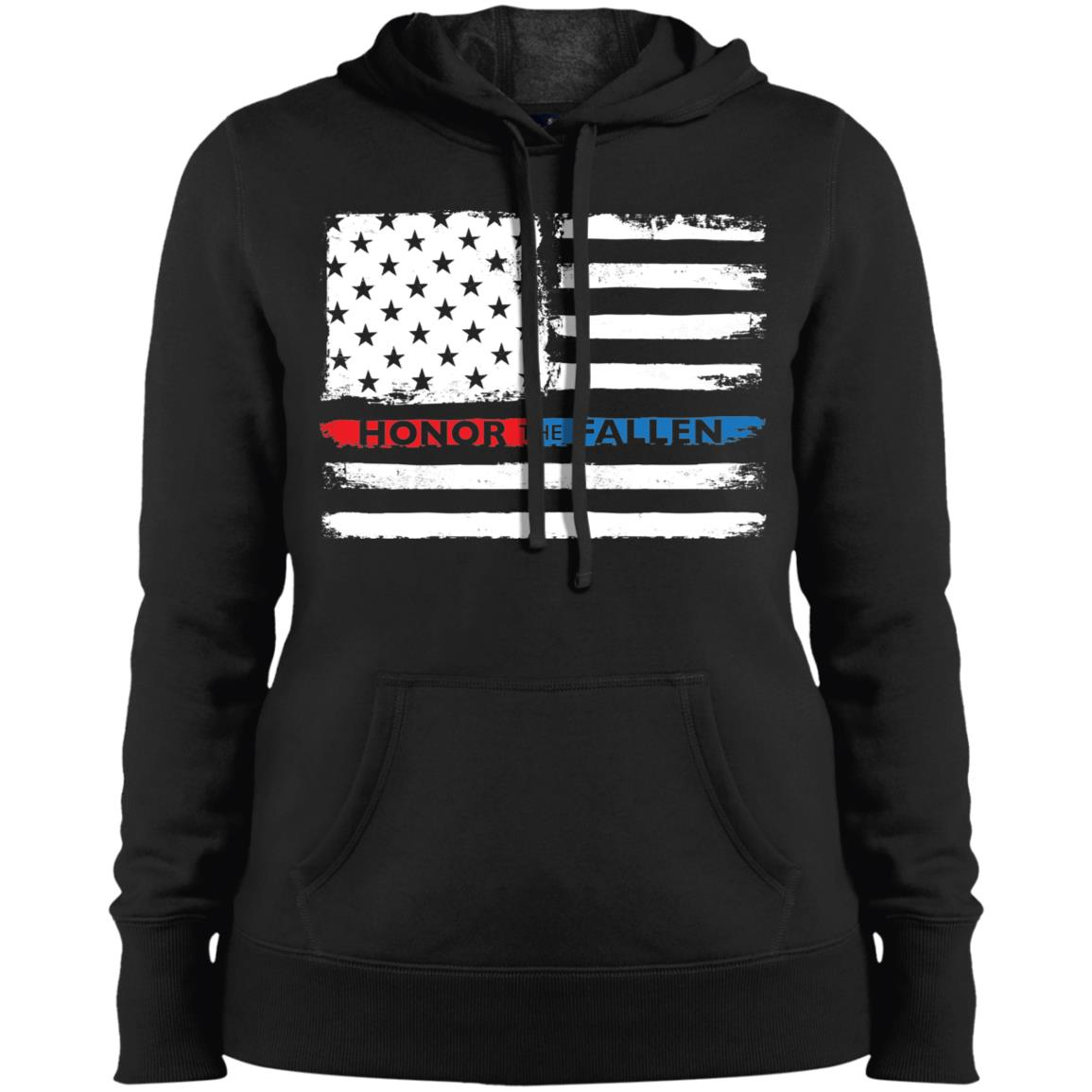 Honor the Fallen - Ladies Sport-Tek Ladies' Pullover Hooded Sweatshirt