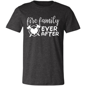 Fire Family Ever After Unisex Jersey Short-Sleeve T-Shirt by Bella + Canva