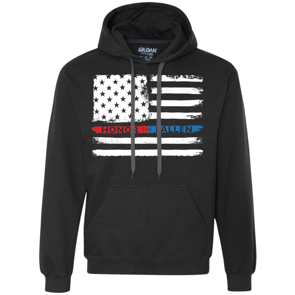 Honor the Fallen - Unisex Gildan Heavyweight Pullover Fleece Sweatshirt