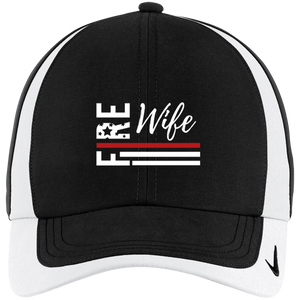 FIRE WIFE FLAG Nike Colorblock Cap
