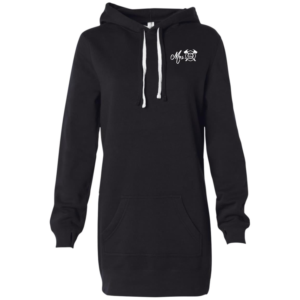 Mrs. Maltese Women's Hooded Pullover Dress
