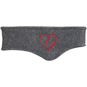 My Heart Belongs Fleece Headband