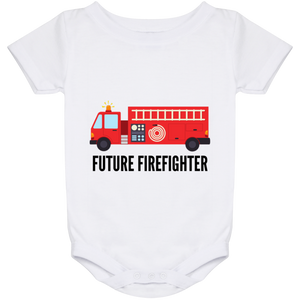 24 Month Baby Future Firefighter Onesie