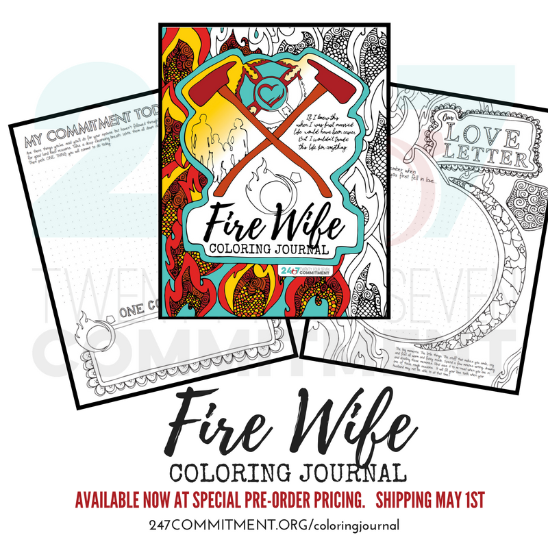 Fire Wife Coloring Journal