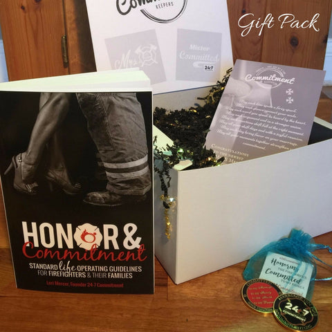 Honor & Commitment GIFT PACK with His & Hers Commitment Coins