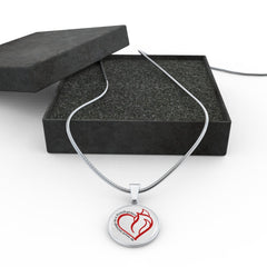 My Heart Belongs Luxury Necklace