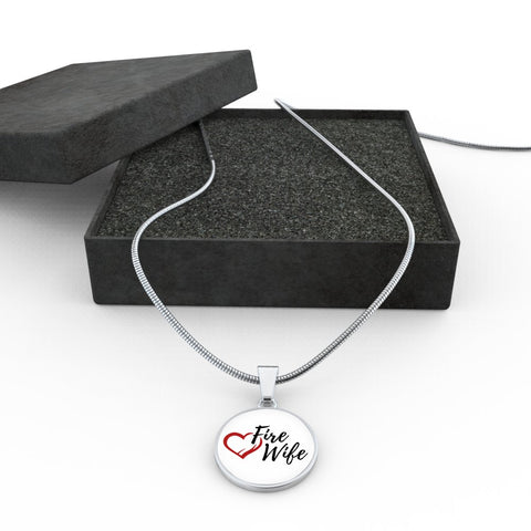 Exclusive Fire Wife Love Necklace