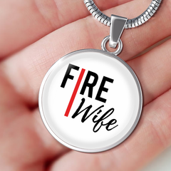 Fire Wife Red Line Luxury Necklace