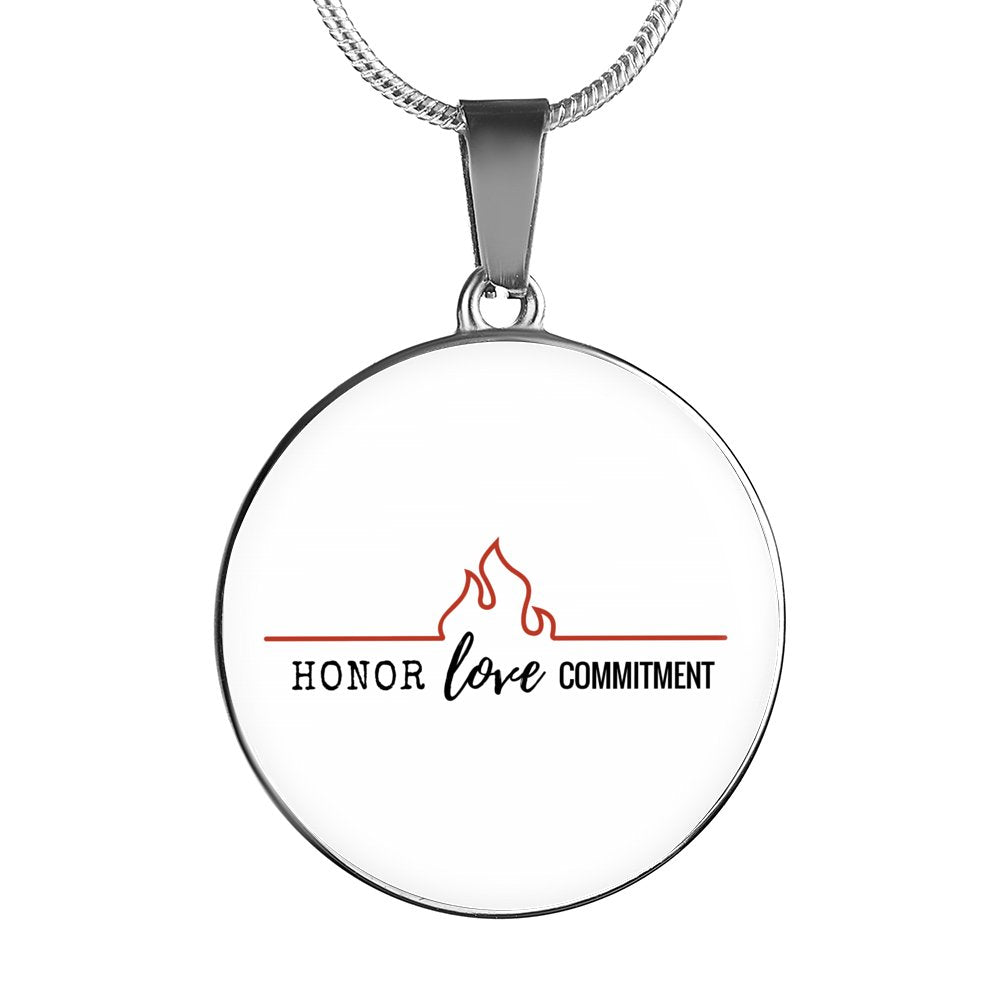 Honor Love Commitment Luxury Necklace