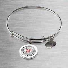 Shift Day Maltese Bangle