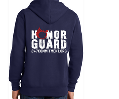 Honor Guard Hoodie - Front and Back Design