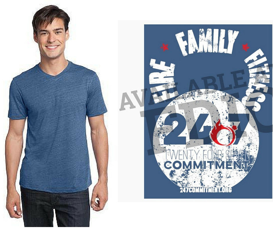 Kettle Bell - Fire Family Fitness Tee
