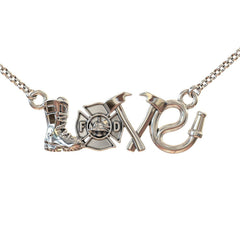 Firefighter LOVE Pendant  -  LIMITED EDITION