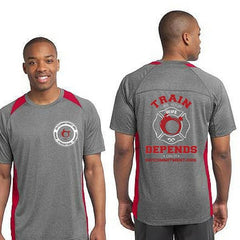 Train Like Your Wife Depends On It - Poly Tee