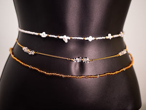 OVRCMR Golden Goddess Waist Chain Set