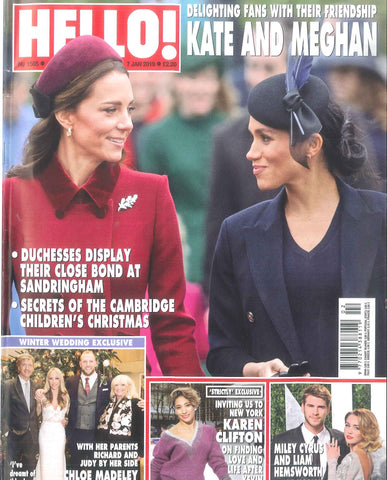 Our hat on the cover of Hello!