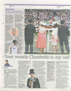 Continuum Hat in The Times