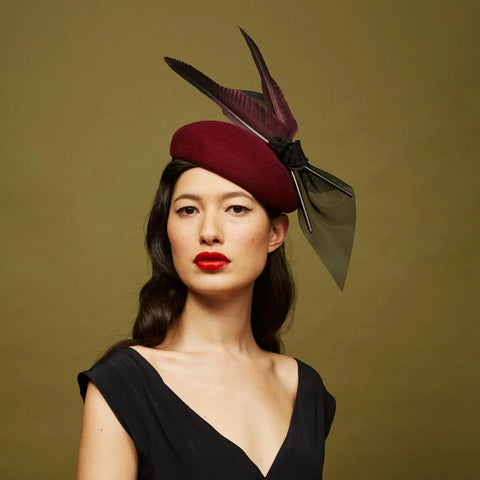 Rococo Pillbox - Awon Golding Millinery