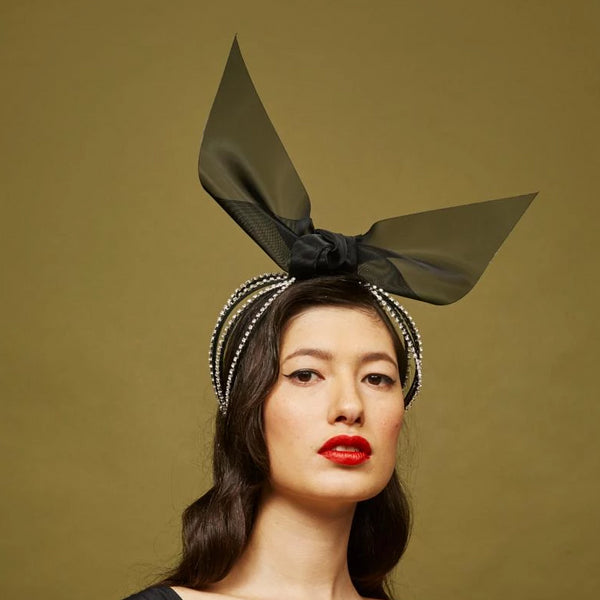 Versailles Headpiece - Awon Golding Millinery