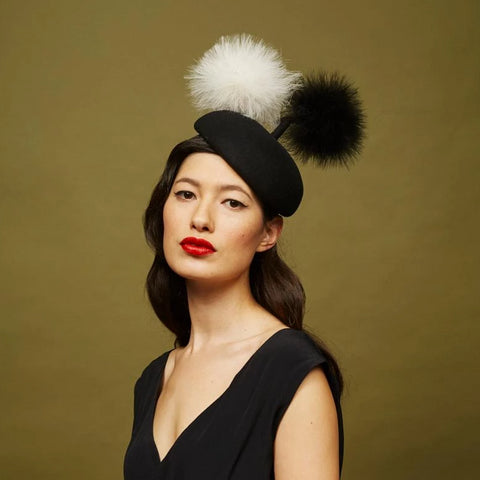 Hanover Beret - Awon Golding Millinery
