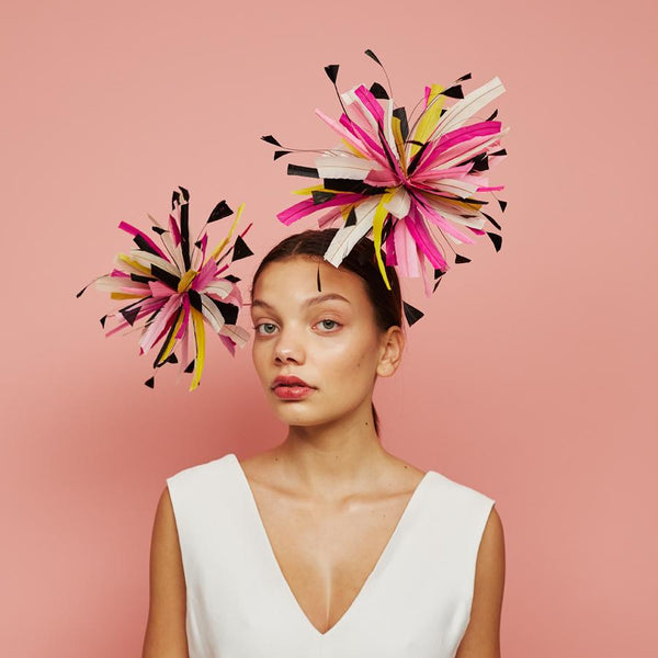 Spectra headpiece - Awon Golding Millinery