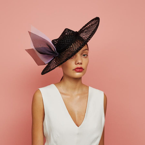Newton picture hat - Awon Golding Millinery