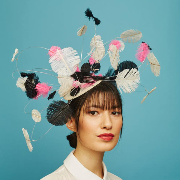 Dotty hat - Awon Golding Millinery