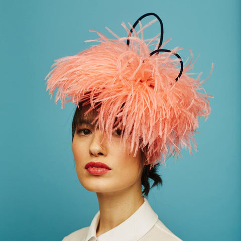 Fluff beret - Awon Golding Millinery