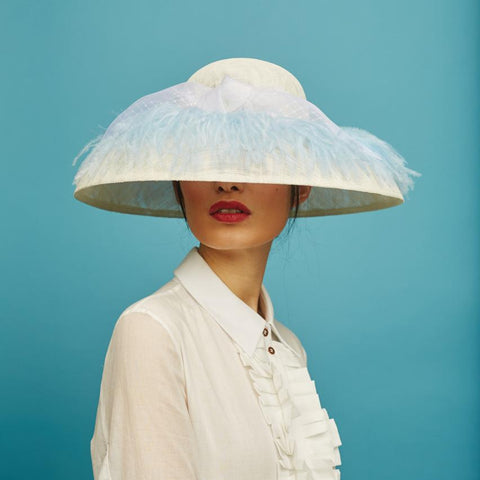 Holly hat - Awon Golding Millinery