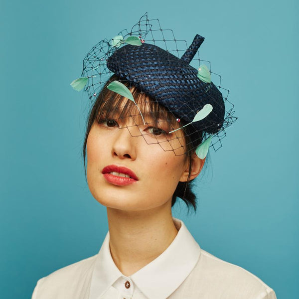 Mote Beret - Awon Golding Millinery